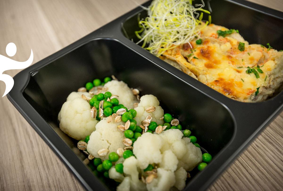 Gotowa dieta pudełkowa - wegetariańska